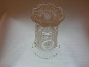 Imperial Glass Amelia Star Medallion Vase