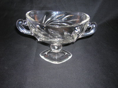 Indiana Glass Oleander Compote
