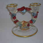 Garland Double Candle Holder