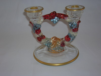 Indiana Garland Candle Holder