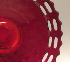 Fenton Basket Weave Open Edge close up
