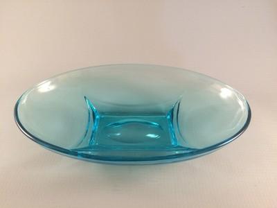 Hazel Ware Capri Pattern Oval Bowl