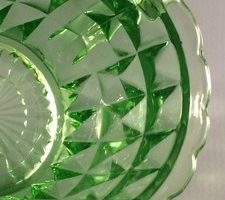 Jeannette Windsor Diamond depression glass pattern