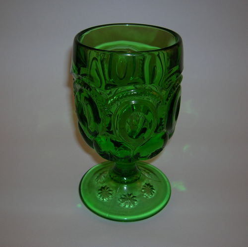 L G Wright Moon and Star goblet