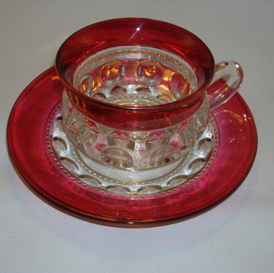 King's Crown Cup and Saucer