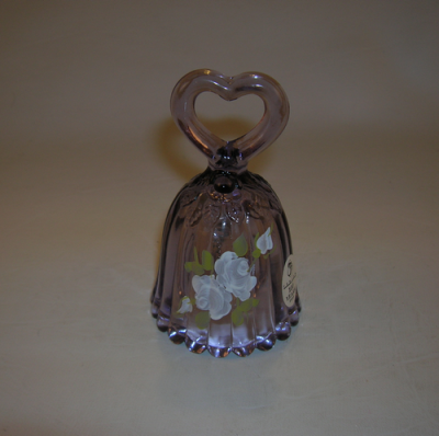 Fenton Glass bell in lavender