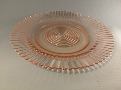 Petalware Pink Depression Glass