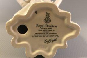 Royal Doulton Pope John-Paul figurine HN2888 back stamp