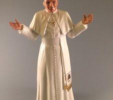 Pope John-Paul figurine by Royal Doulton