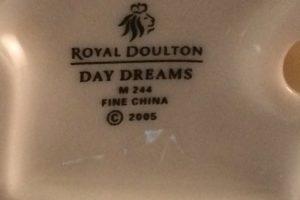 Royal Doulton Day Dreams M244 back stamp
