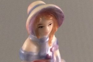 Day Dreams M244 figurine southern belle