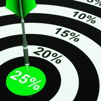 Save 25 %